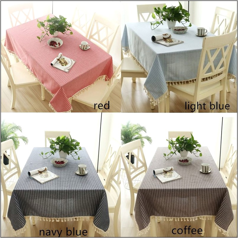 Light Brown Kitchens Decoration Table Cloth