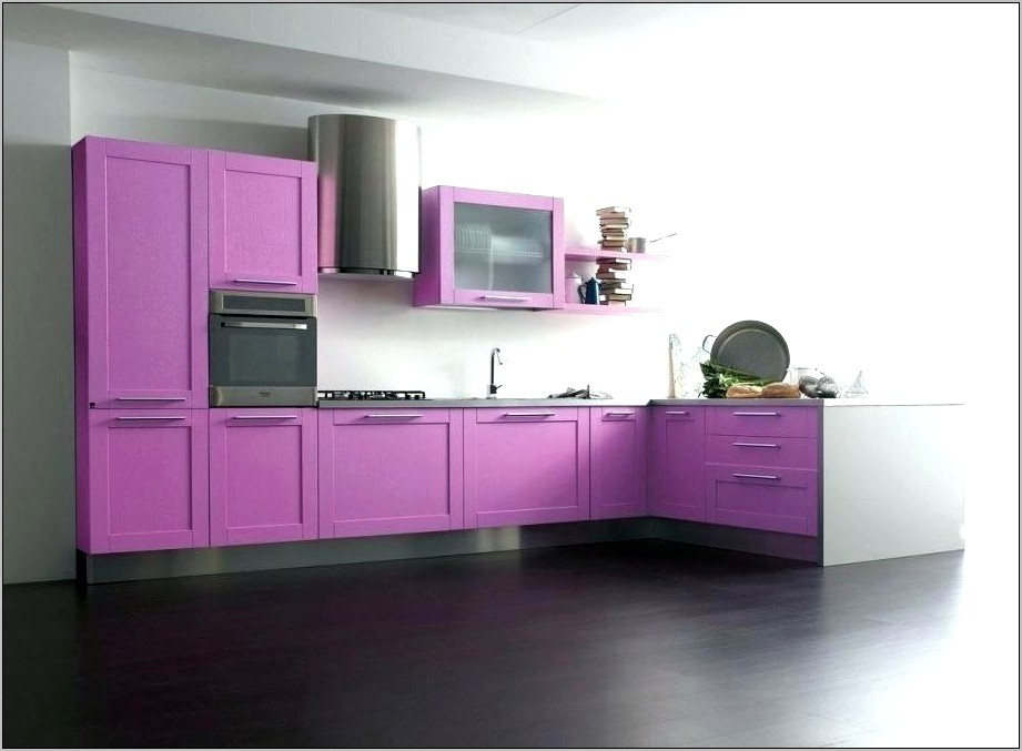 Lime Green Purple Kitchen Decor