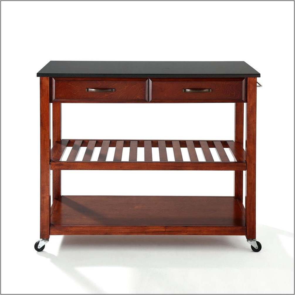 Linon Home Decor Kitchen Cart Instructions