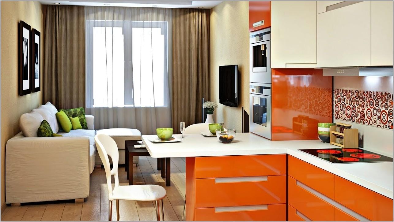 Living Room Kitchen Decoration