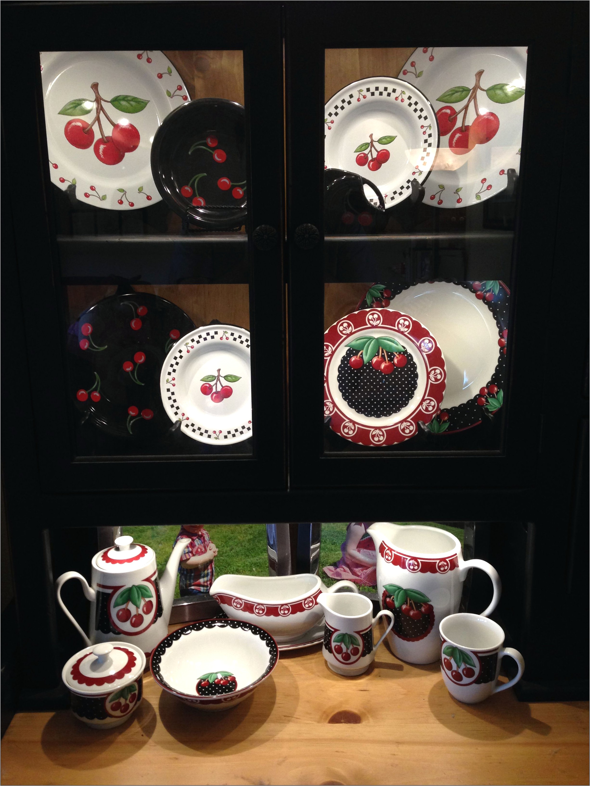 Mary Engelberit Cherry Kitchen Decor