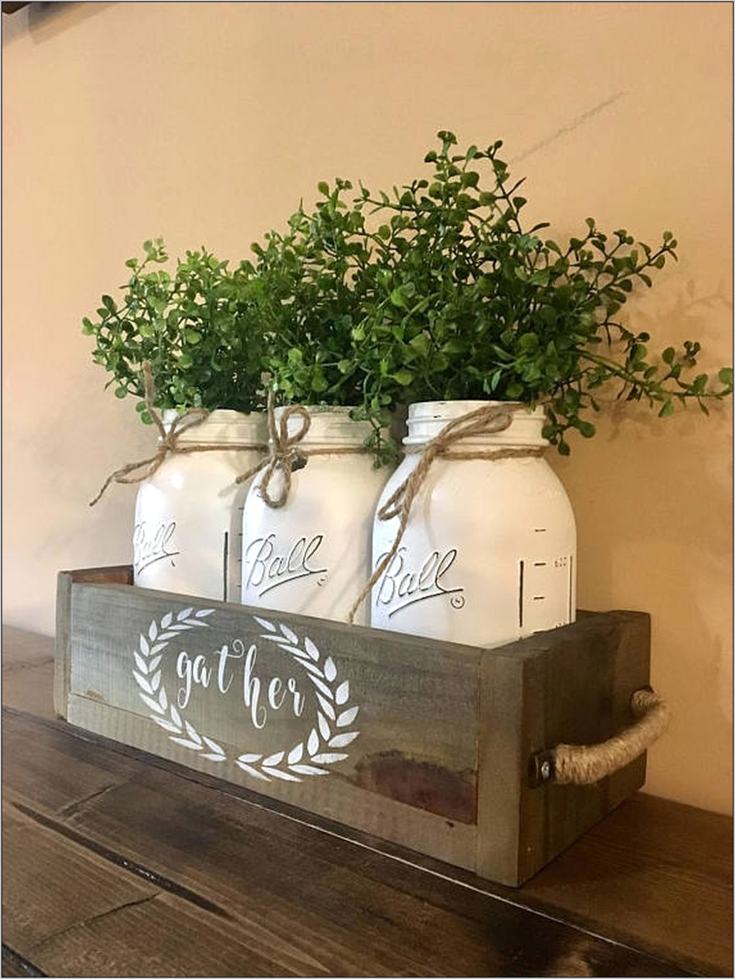 Mason Jars Kitchen Decorations