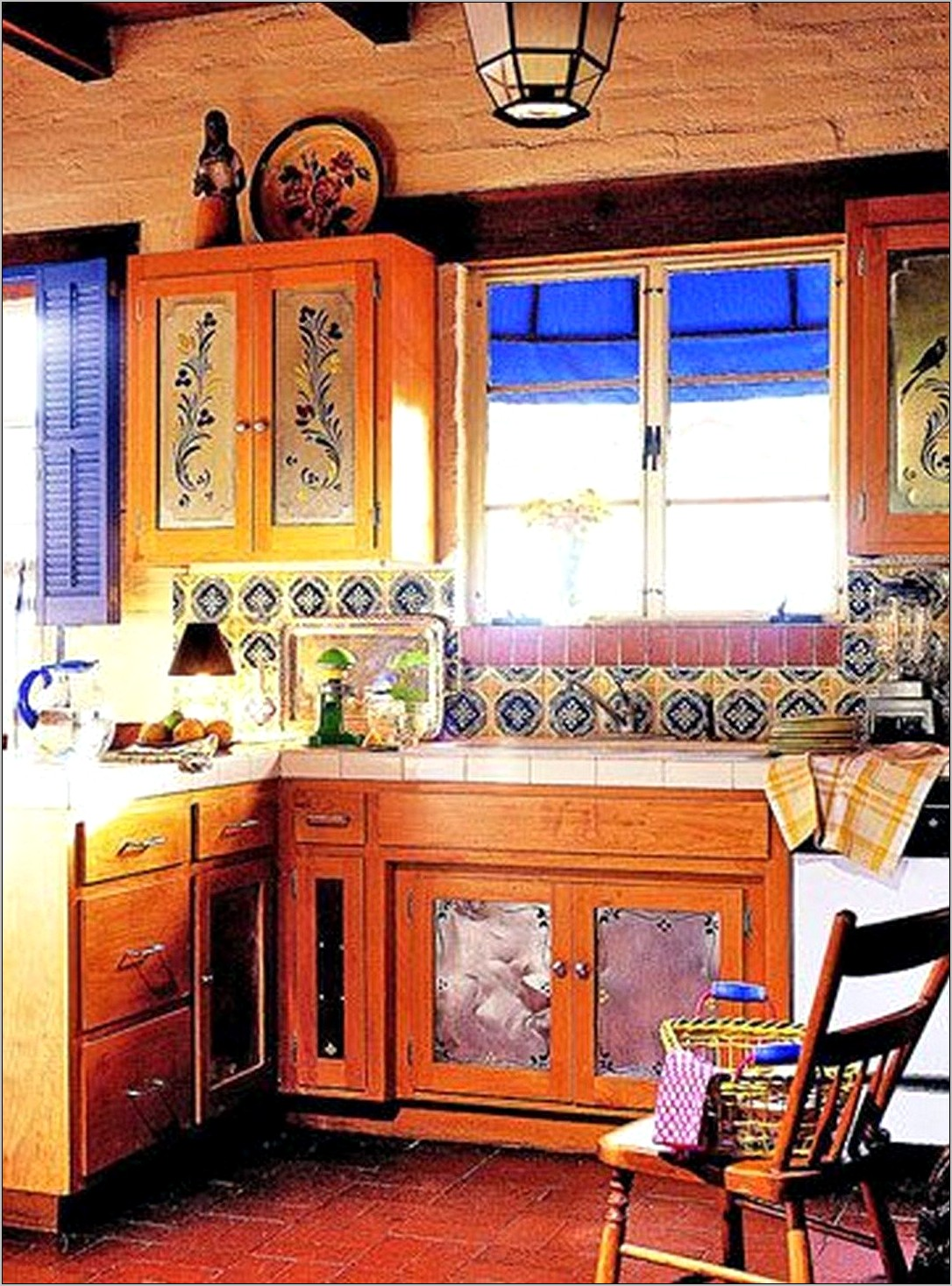 Mexican Style Kitchen Decorating Ideas