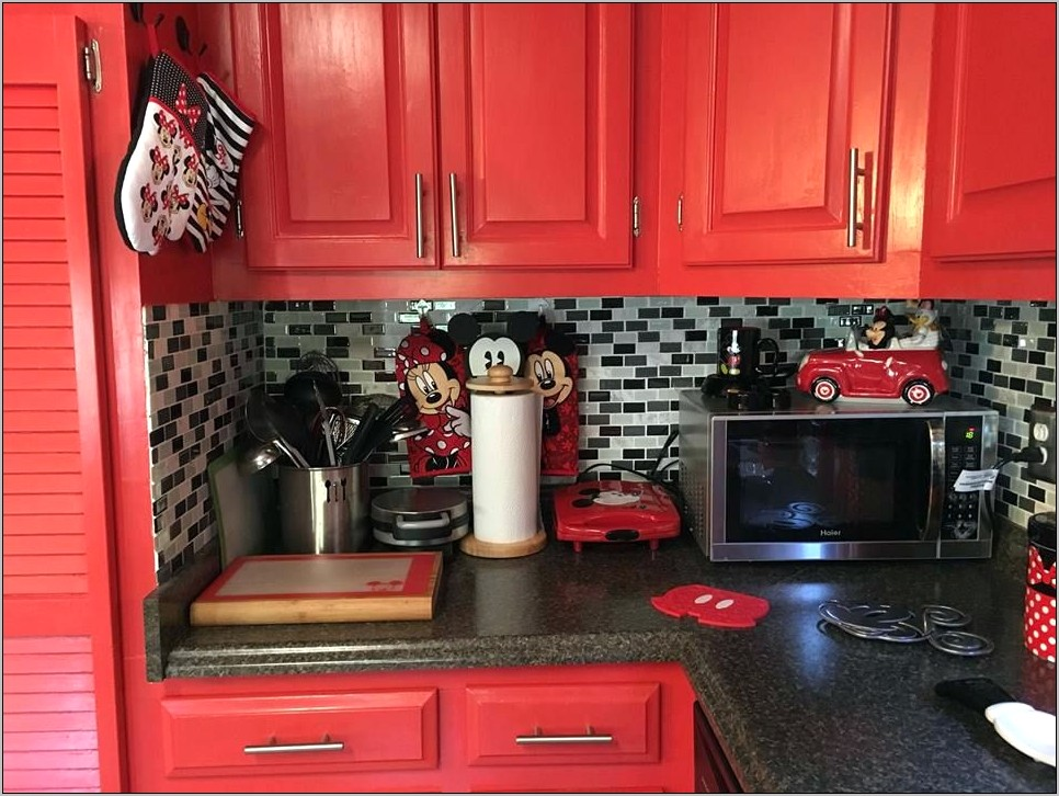 Mickey And Minnie Mouse Kitchen Decor