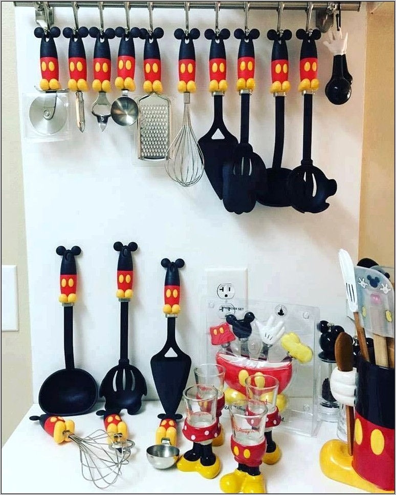Mickey Mouse Kitchen Decor For Sale