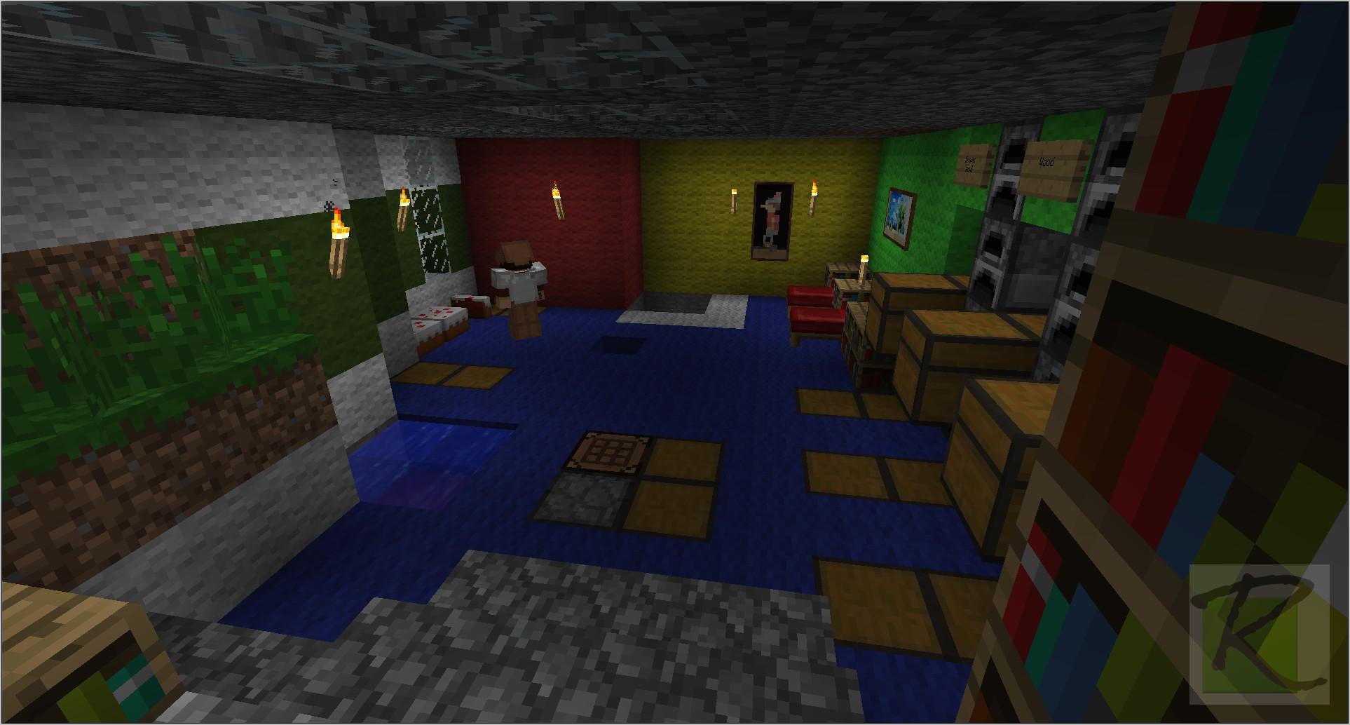 Minecraft Interior Decorations Kitchen