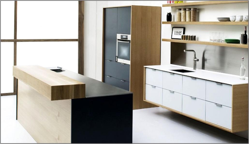 Minimalist Decorating Above Kitchen Cabinets