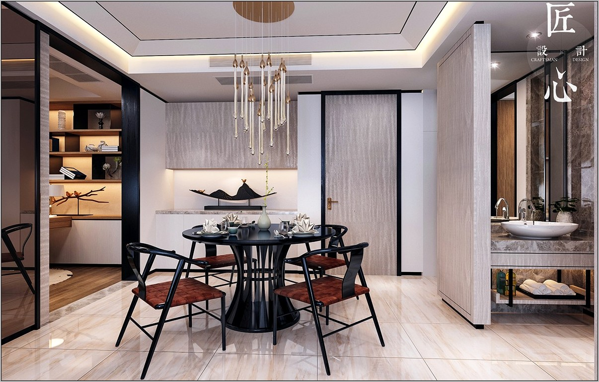 Modern Chinese Decorative Kitchens