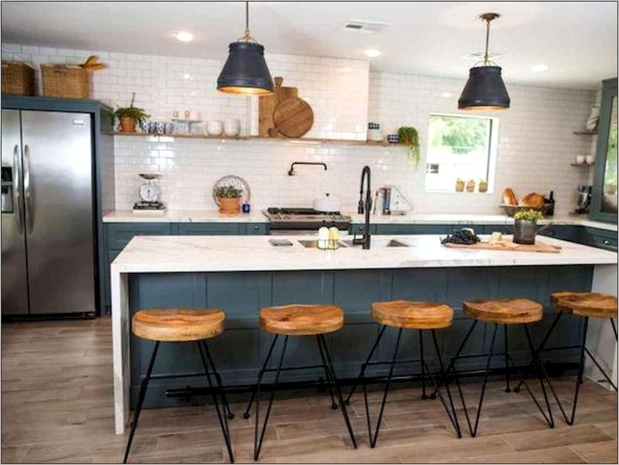 Modern Farmhouse Kitchen Island Decor