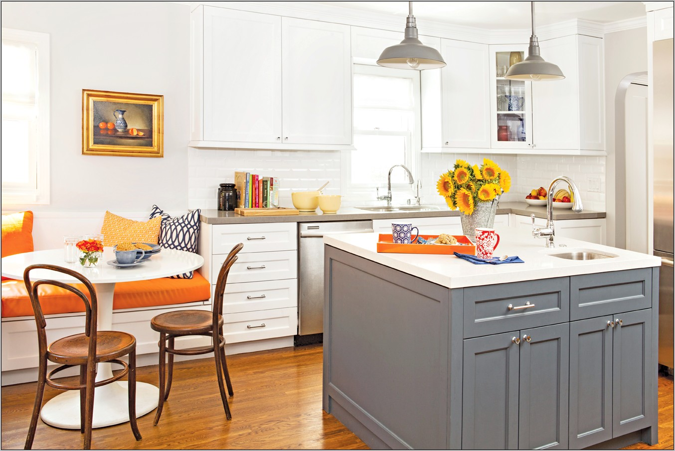 Modern Kitchen Cottage Style Decorating