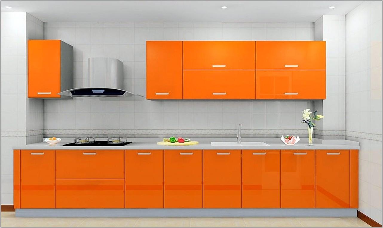 Modern Kitchen Decor Oranges