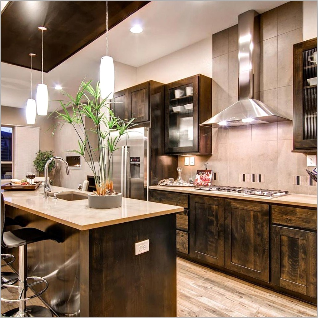Modern Rustic Decor Kitchen