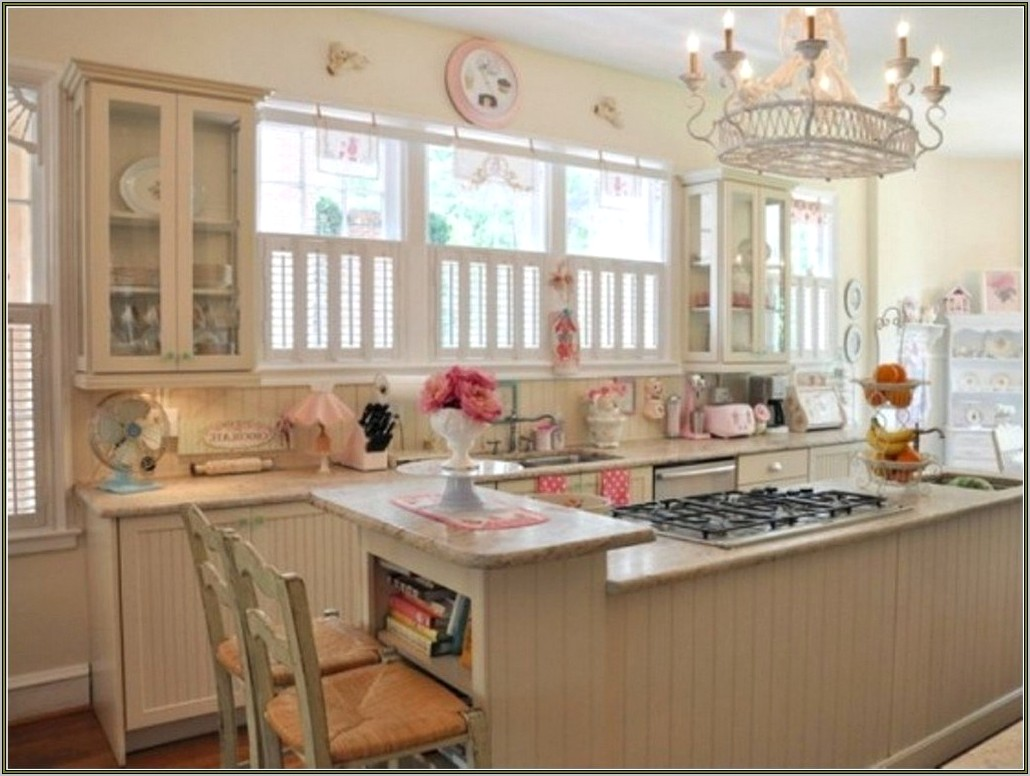 Modern Shabby Chic Kitchen Decor