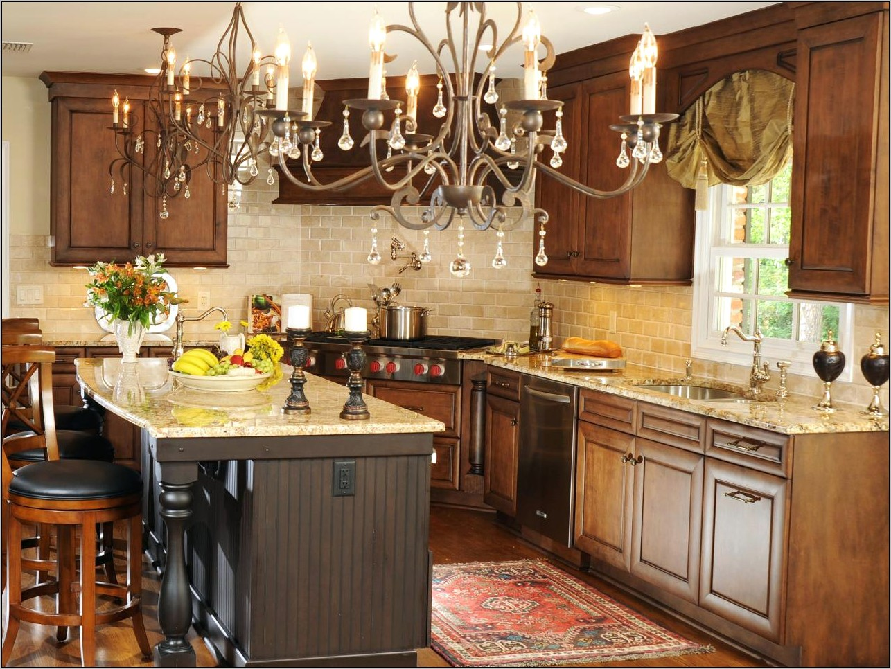 Modern Victorian Kitchen Decor