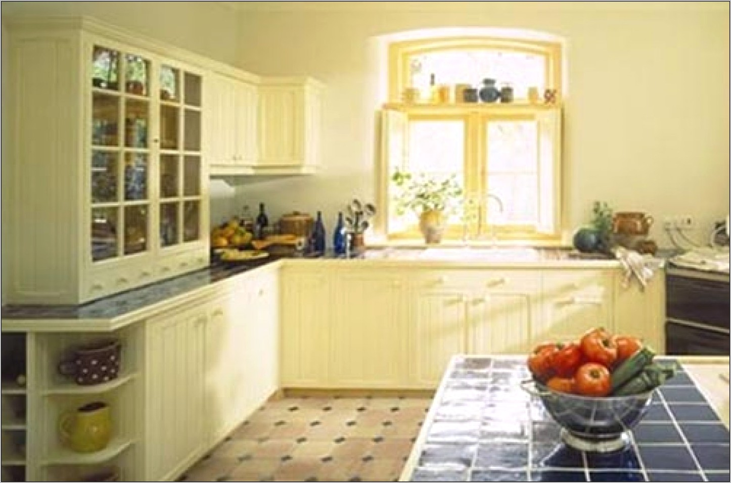 Modern Yellow Kitchens Design Decorating Ideas