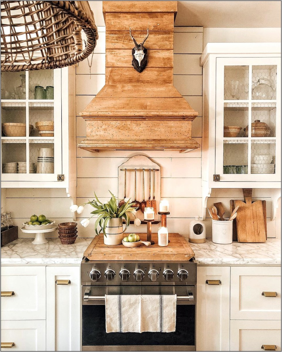 Natural Modern Rustic Kitchen Decorating Ideas