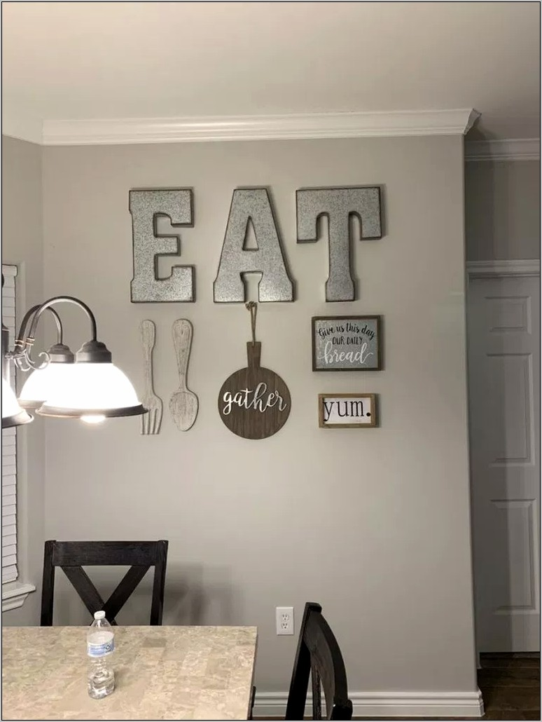 Nature Wall Decorating For Kitchen