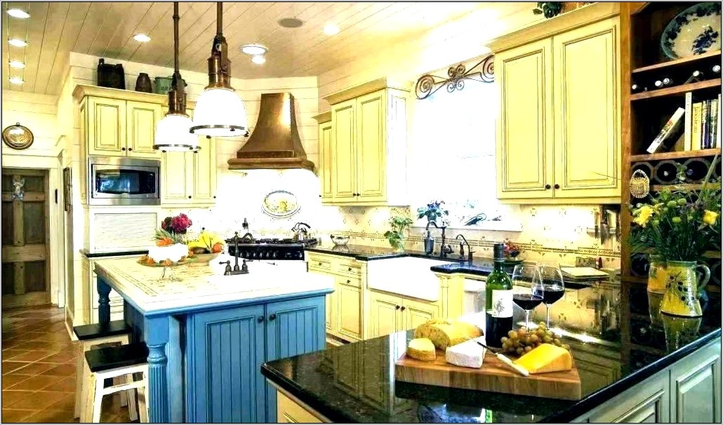 Navy And White Kitchen Decor