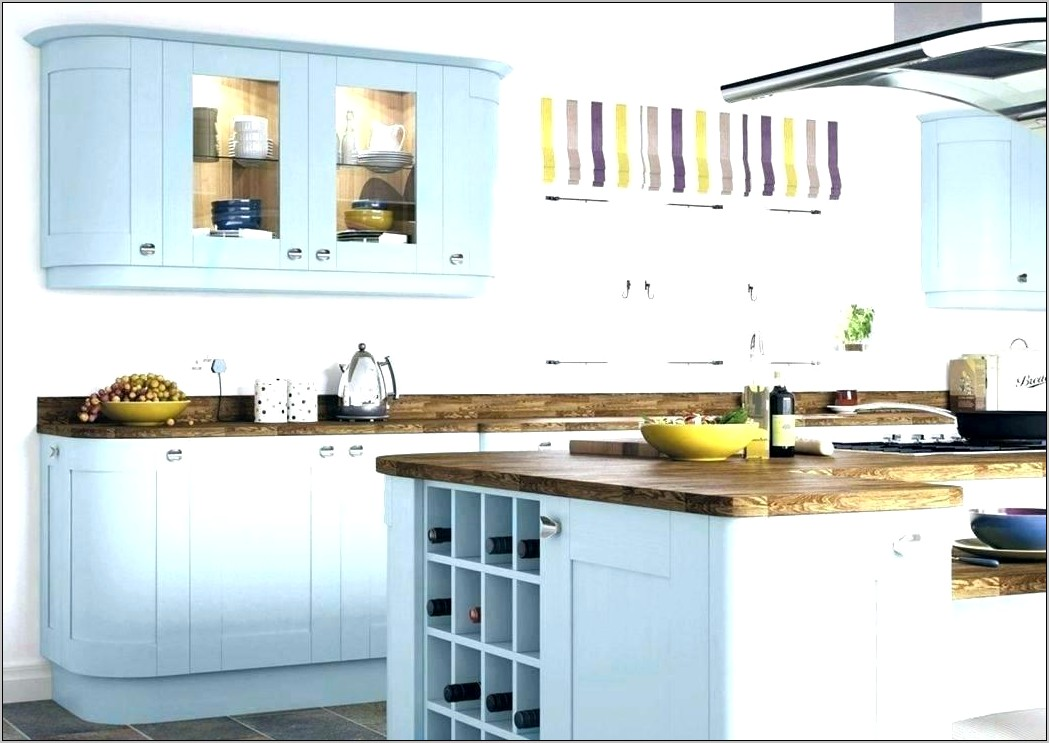 Navy And Yellow Kitchen Decor