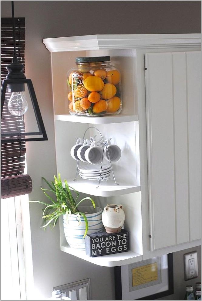 New On Decor 2017 Kitchen Corner Shelves