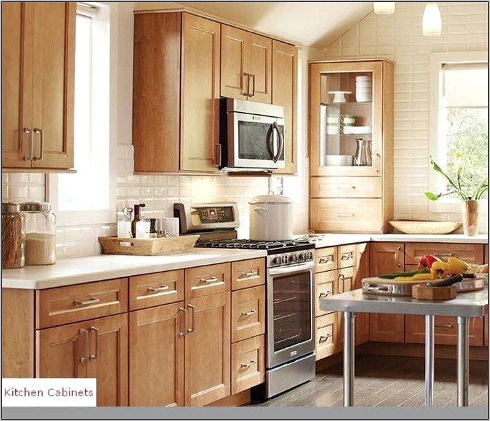 Oak Kitchen Cabinet Decor