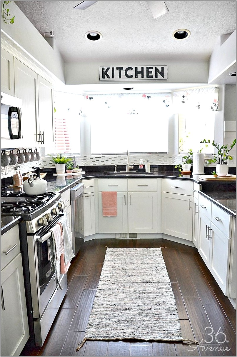Old Fashion Pink Decorations For Kitchen