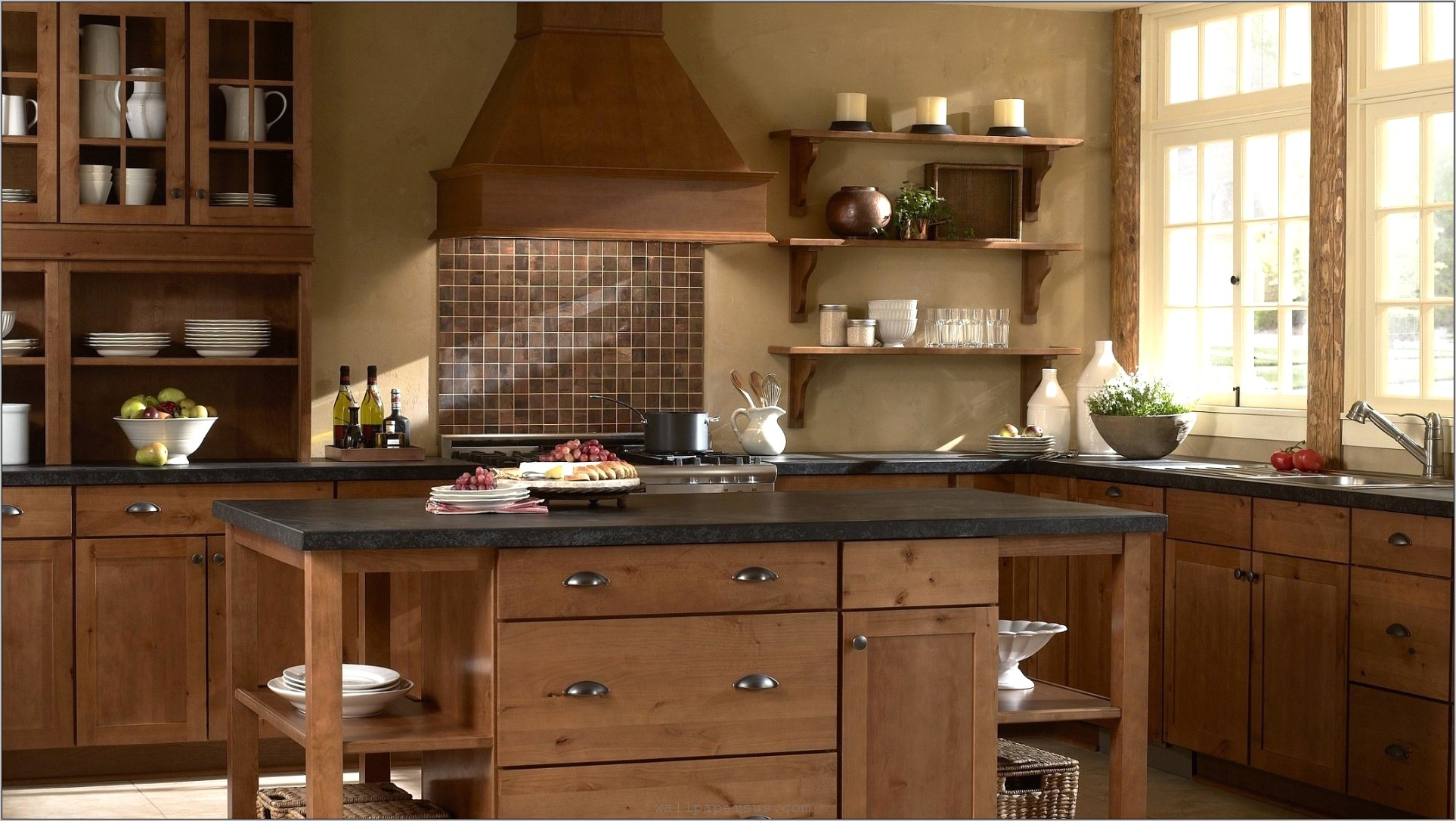 Old Fashioned Kitchen Decorating Ideas