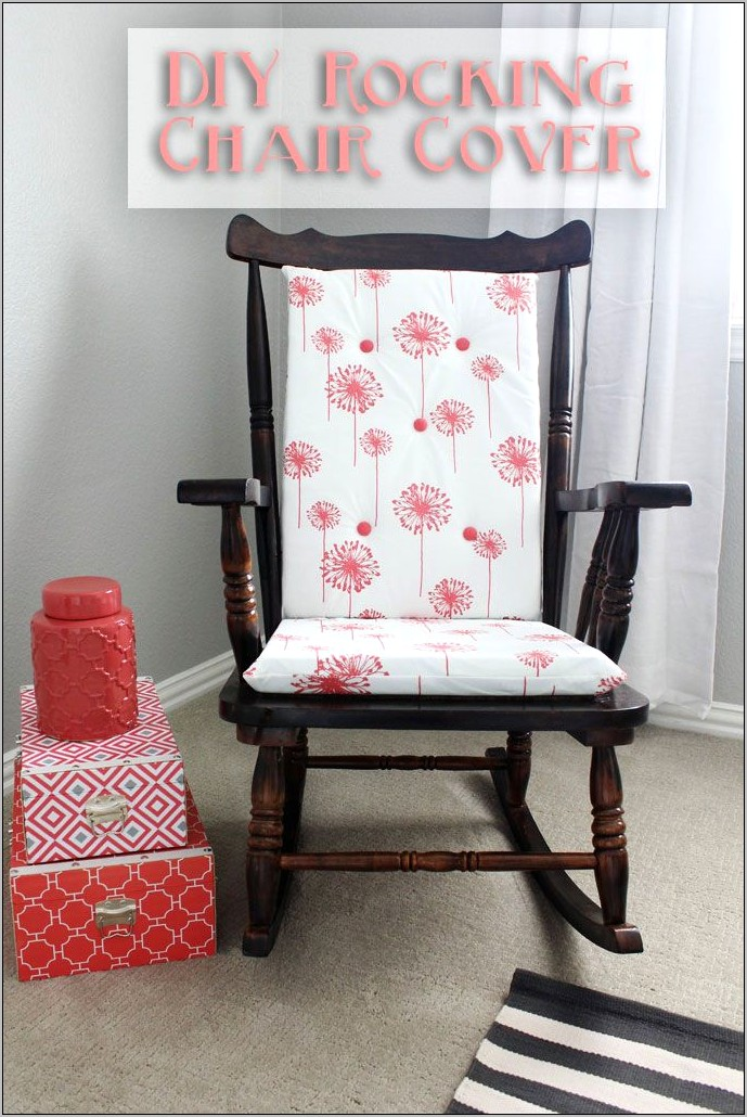 Old Kitchen Chair With Pillow Decor