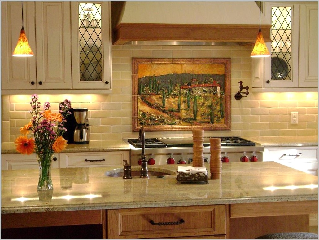 Old World Tuscan Kitchen Decor