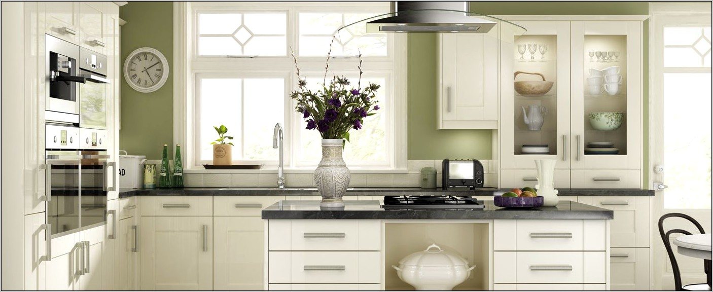 Olive Green Kitchen Decor