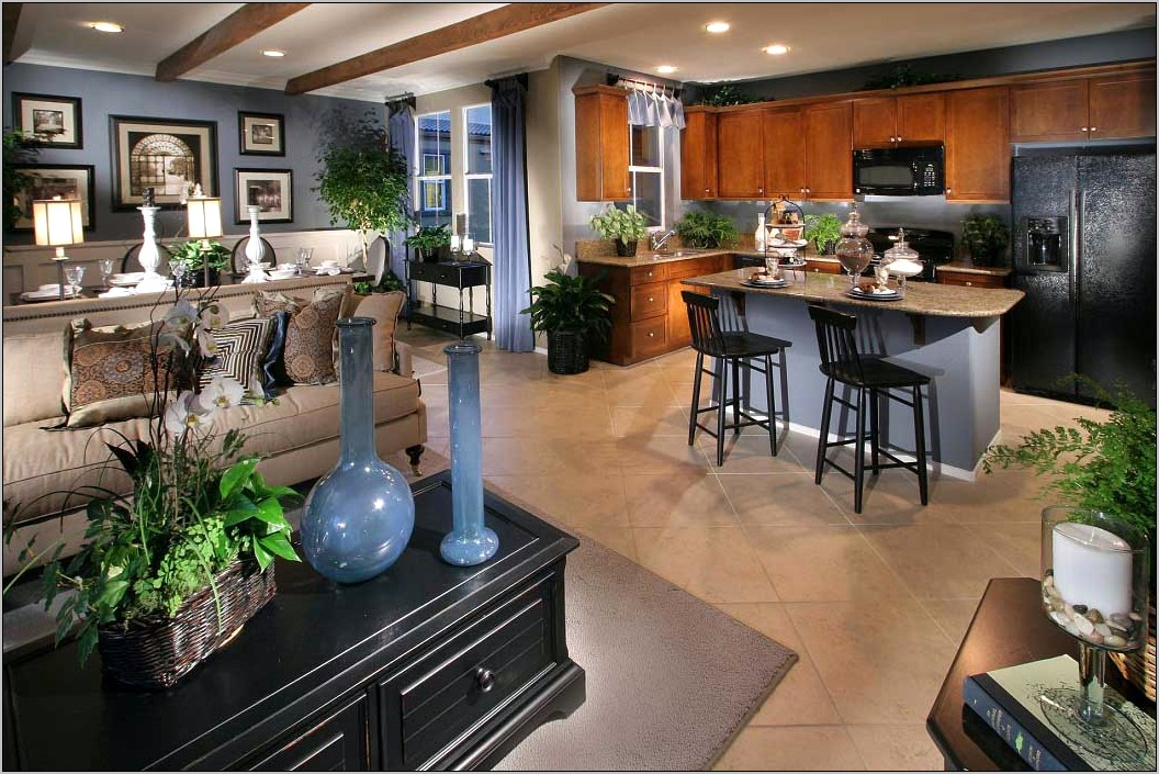 Open Concept Kitchen Decorating