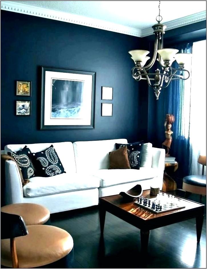 Orange Cobalt Blue Kitchen Decorating Ideas