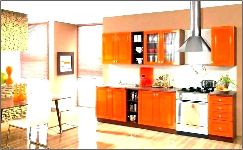 Orange Kitchen Decor Ideas