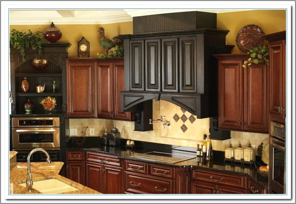 Over Kitchen Cabinet Decorating Ideas