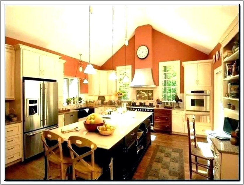 Over Kitchen Cabinets Decoration