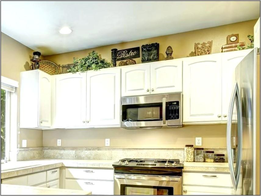 Over Kitchen Cabinets Modern Decor Ideas
