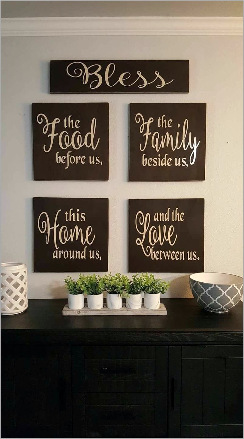 Pallet Kitchen Wall Decor