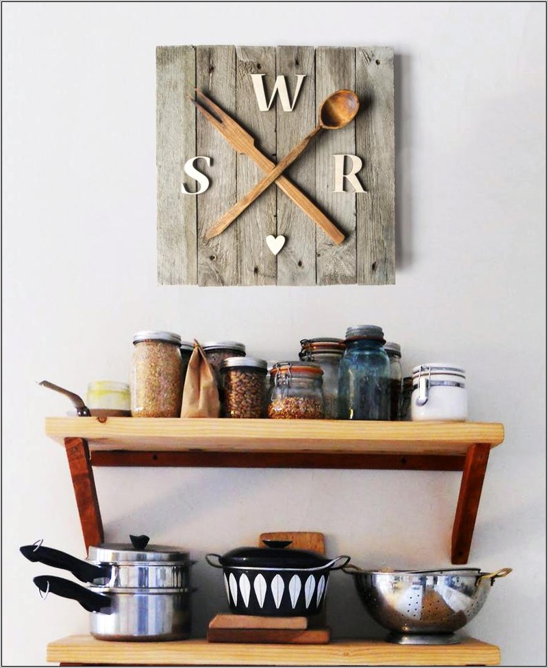 Pallet Wall Decor Kitchen