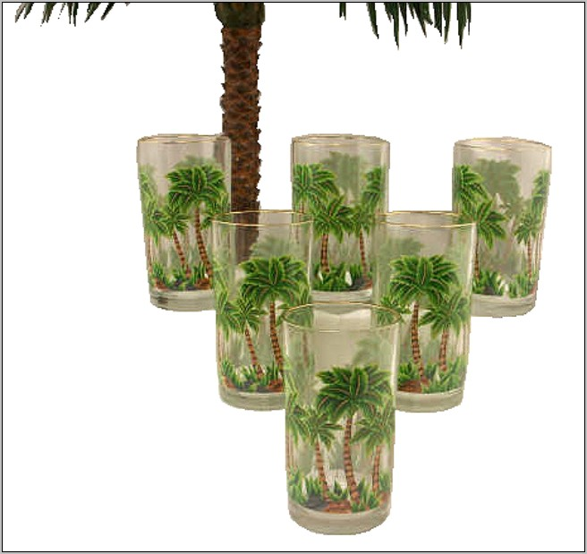 Palm Tree Kitchen Decor