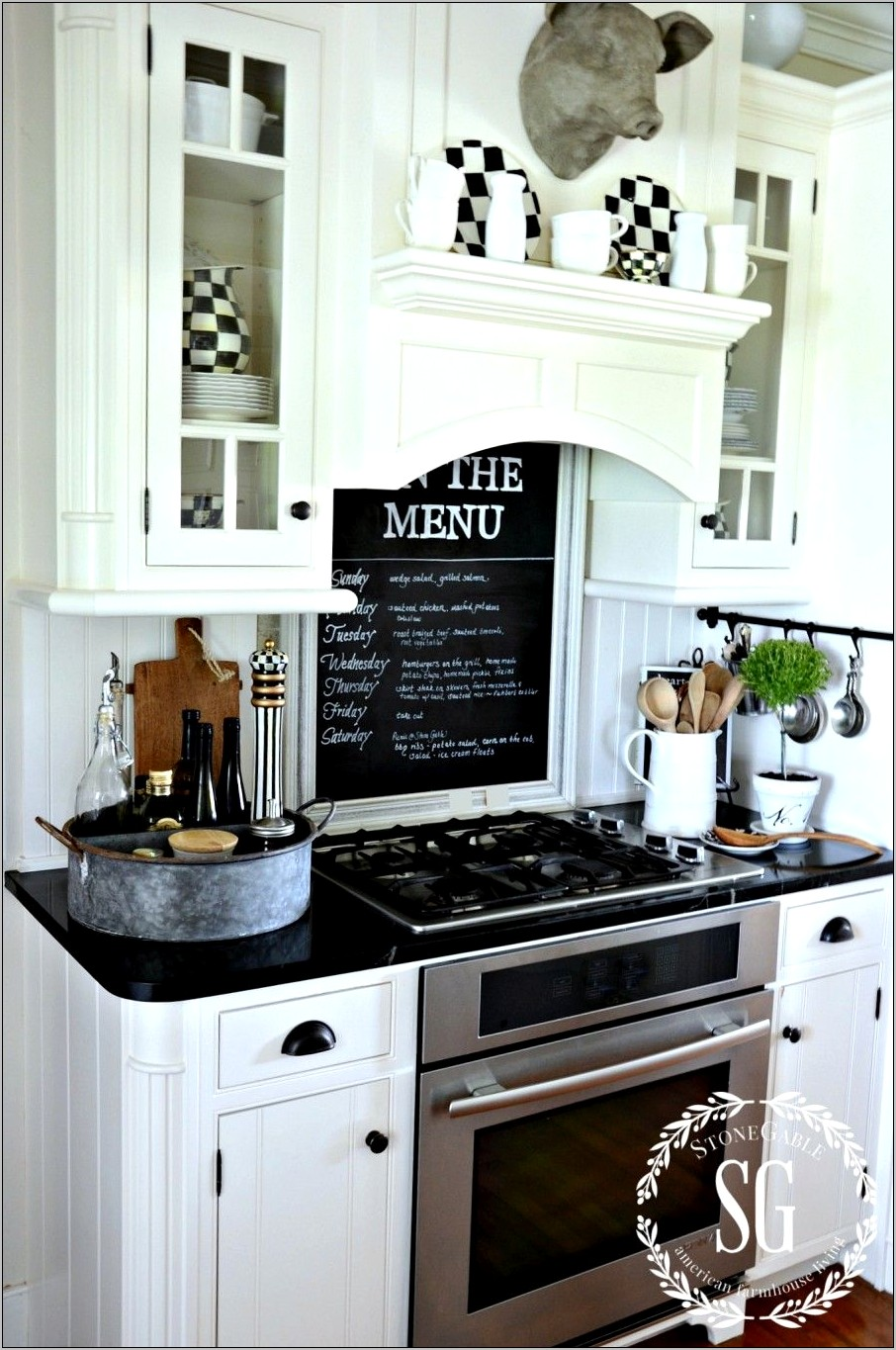 Photos Of Kitchen Stoves With Decor