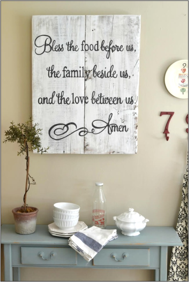 Pictures Of Decorated Kitchen Walls