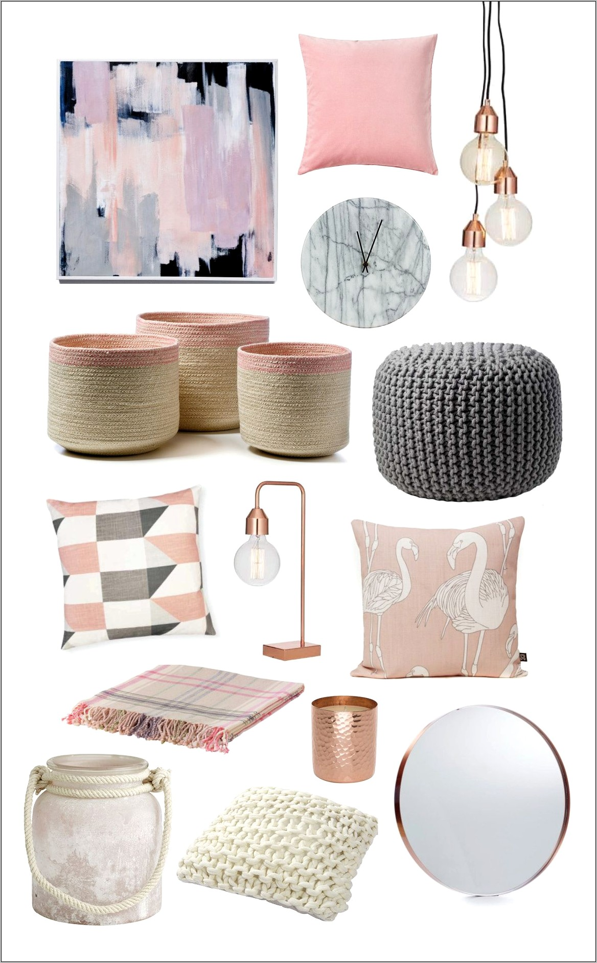 Pink Kitchen Decor Items