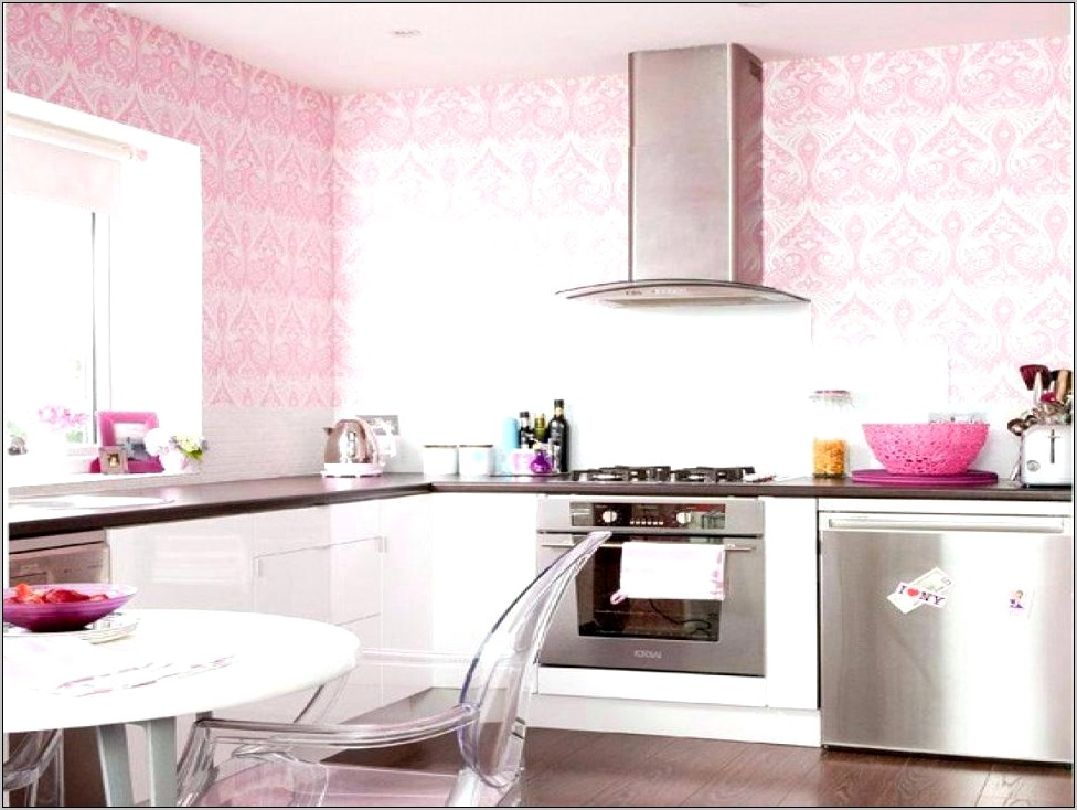 Pink Modern Kitchen Decor