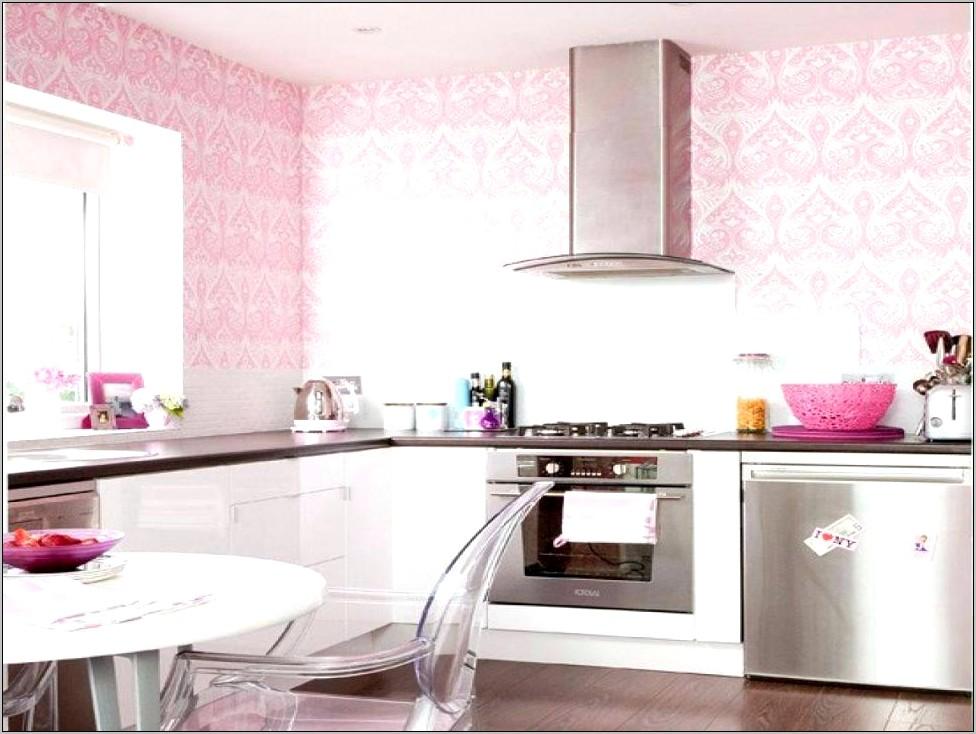 Pink Modern Kitchen Decor