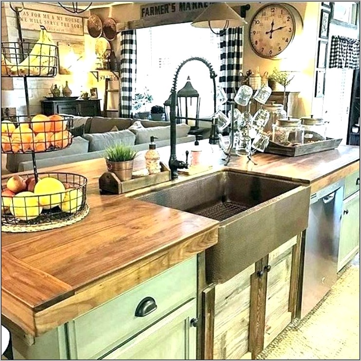 Pinterest Country Kitchen Decorating Ideas