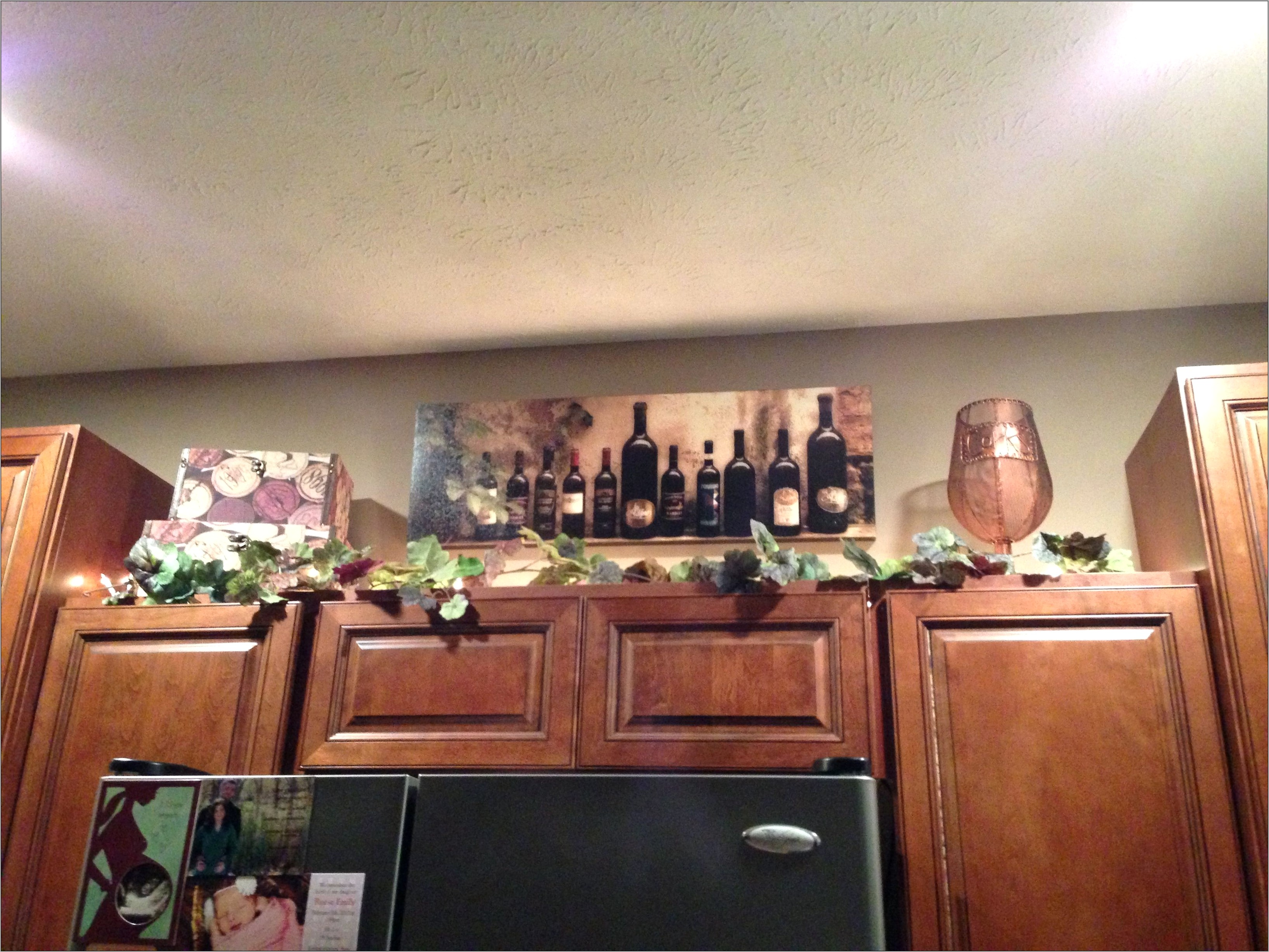 Pinterest Kitchen Wine Decor