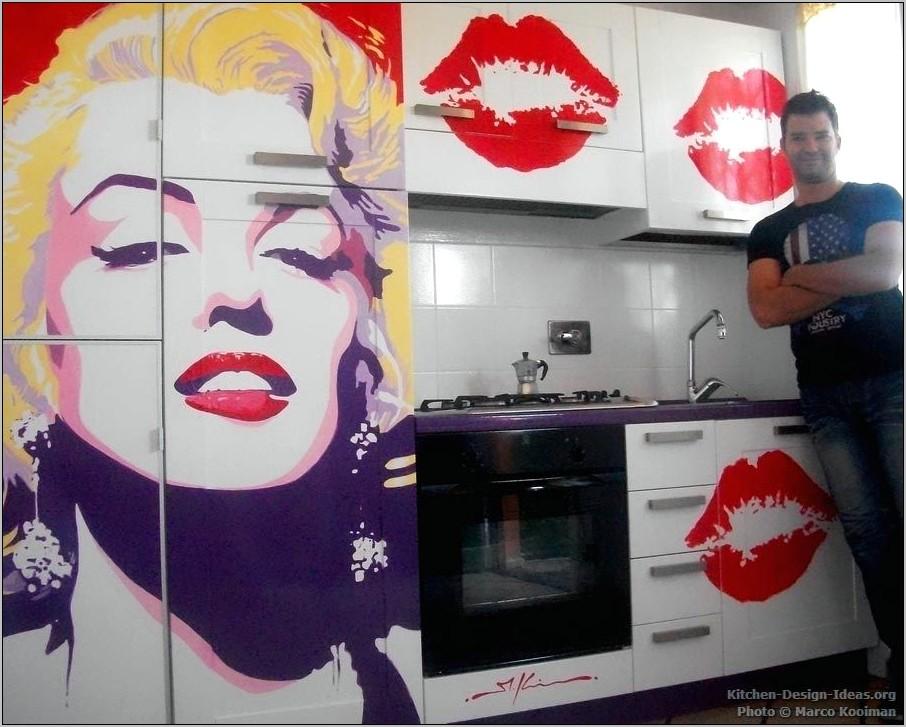 Pop Art Kitchen Decor