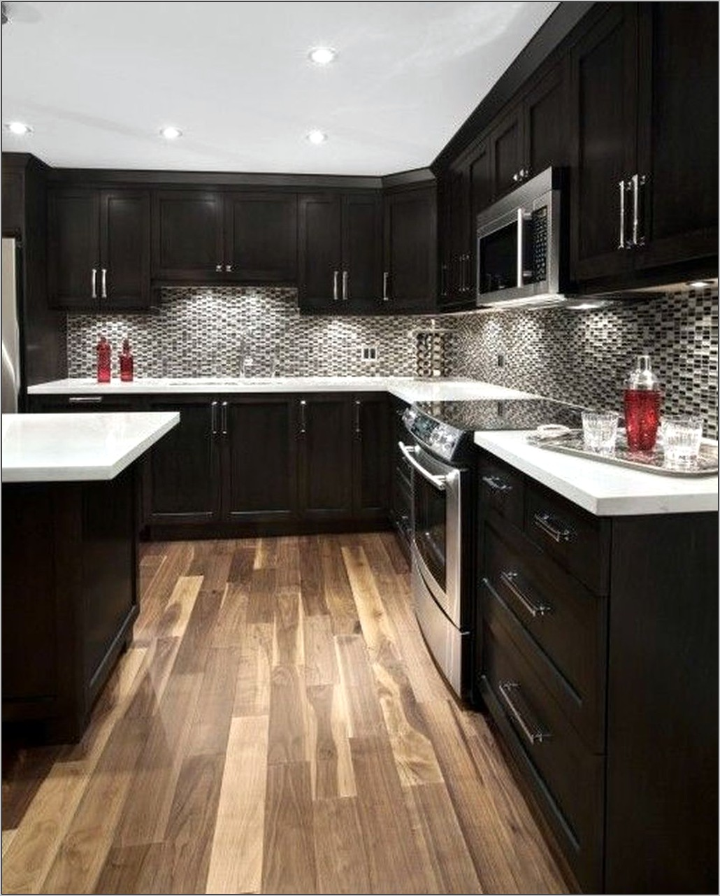 Popular Kitchen Decorating Ideas Cabinets