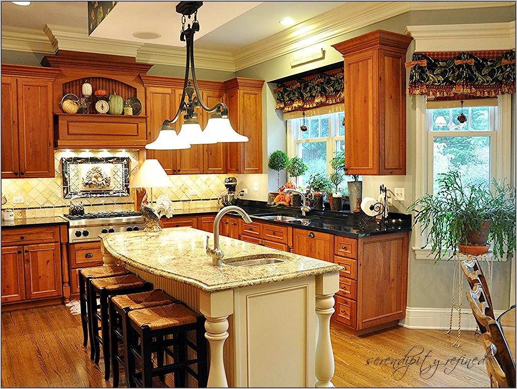Pottery Batn Kitchen Island Decor Ideas