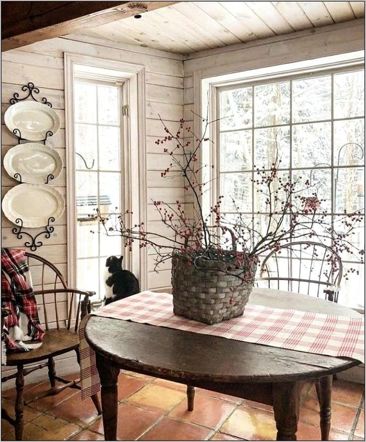 Primitive Decorative Designs For A Kitchen Table